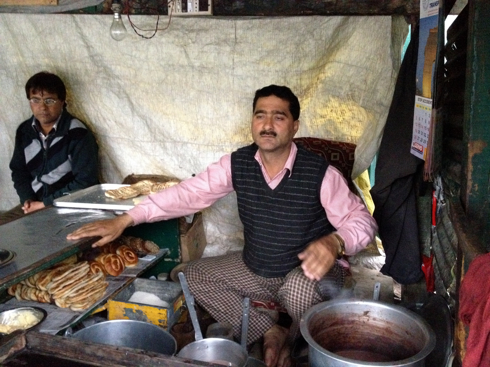 Kashmiri Chai, Food Safari