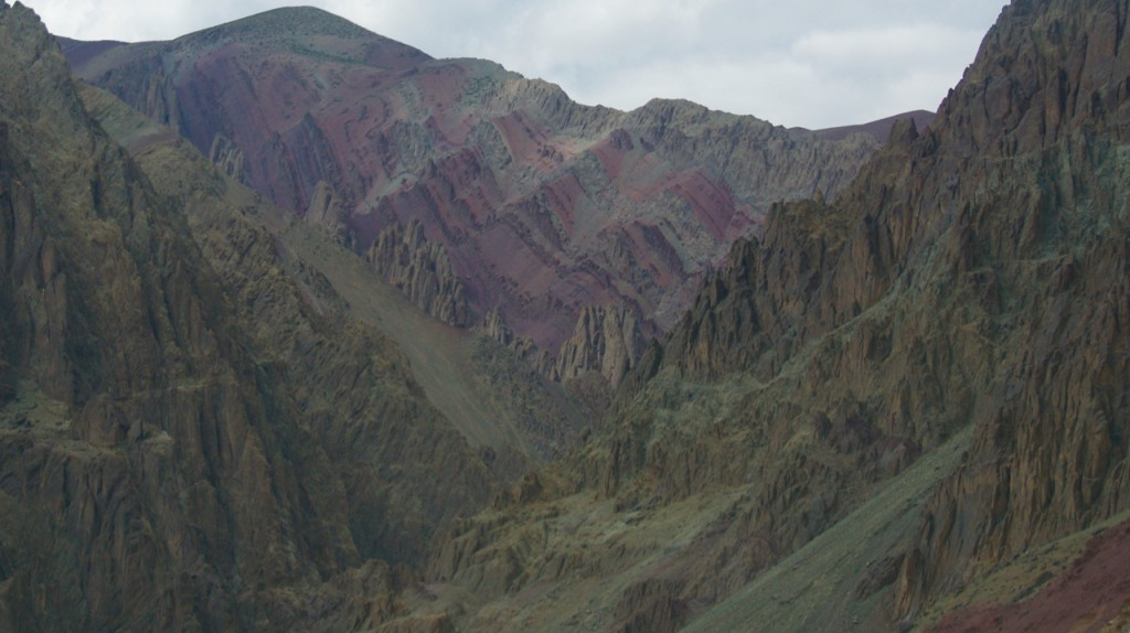 Pink Mountains of Ladakh