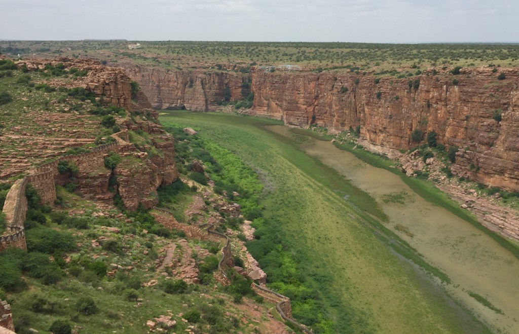 Gandikota fort and canyon