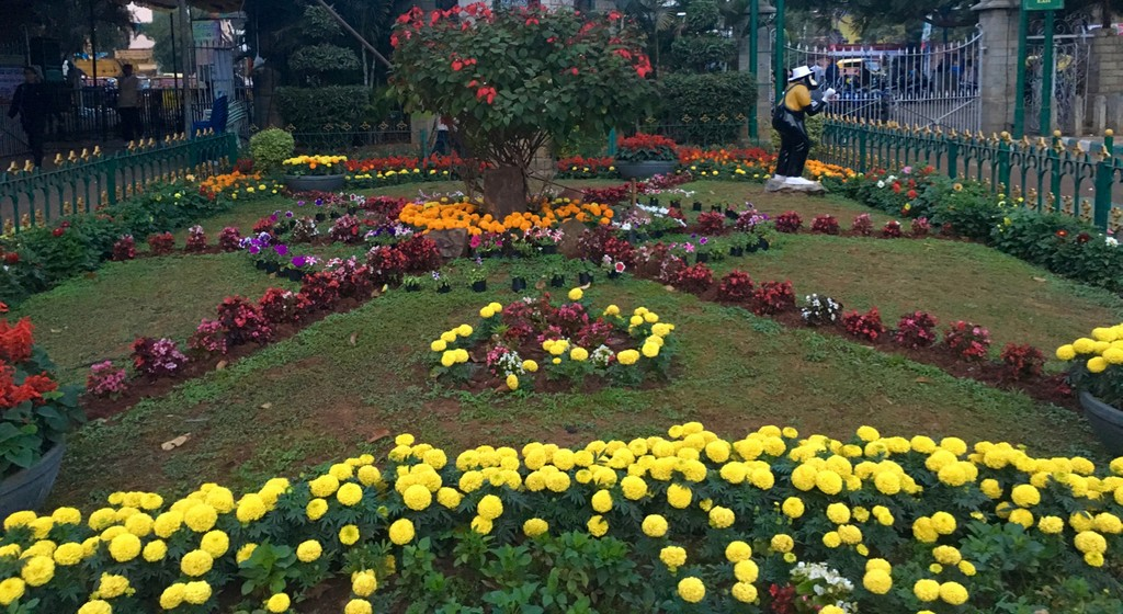 Lalbagh is lovely